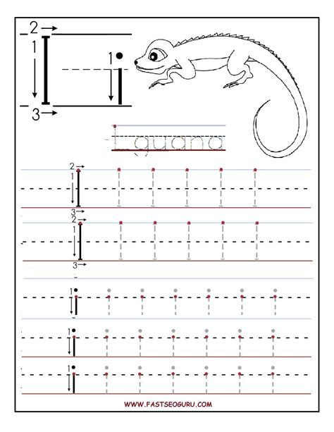 printable letter i tracing worksheets for preschool printable letter i tracing worksheets for preschool