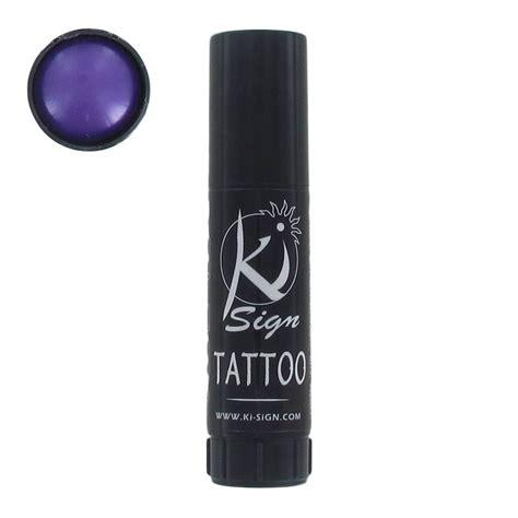 encre cosmetique pour tatouage temporaire violet perles