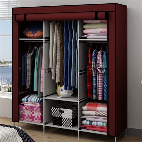 Wardrobe Cabinet For Hanging Clothes simple simple wardrobe cabinet hanging clothes storage