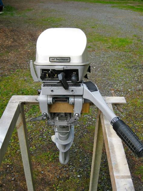 Used Outboard Motors For Sale Kenora by 15 Hp Johnson Sea Horse Outboard Motor Comox Courtenay