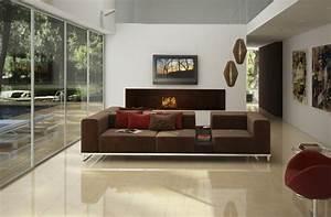 Farbe Für Bodenfliesen : wohnzimmer fliesen 86 beispiele warum sie den ~ Michelbontemps.com Haus und Dekorationen