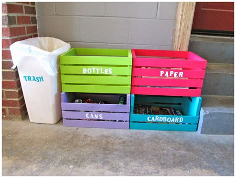 recycling made easy laura s plans easy d i y home recycling center