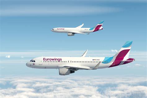 Lufthansa: Nah- und Fernziele mit Eurowings