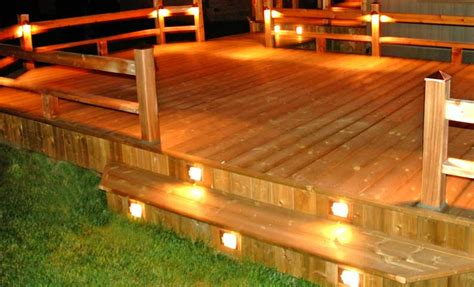 deck railing lights ideas deck design ideas outdoor deck lighting ideas to choose from