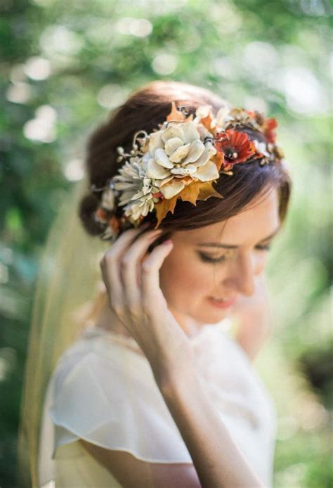 212 Best Floral Headpieces And Floral Crowns Images On