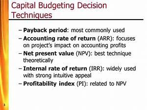 internal rate of return pdf