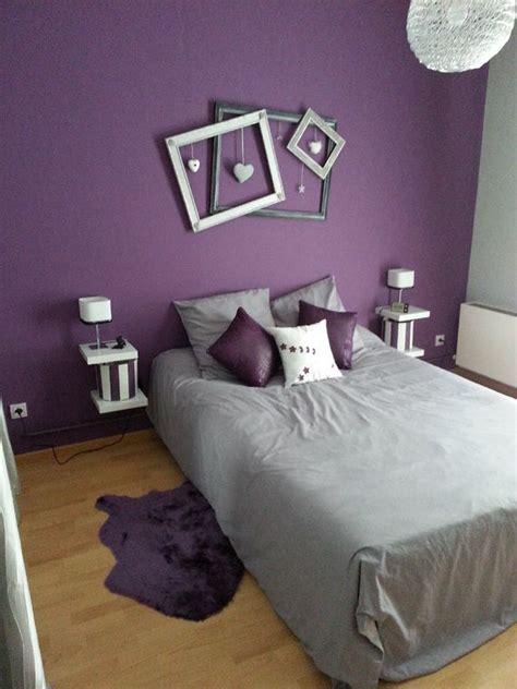 chambre gris et aubergine chambre aubergine et blanc awesome deco salon moderne