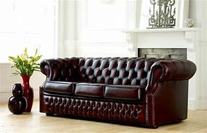 richmond leather chesterfield sofa beds With leather look sofa bed