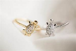 Cz turtle ringjewelry ring jewelanimal ringbest gift for Turtle wedding ring