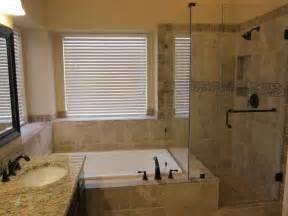 Master Bathroom Remodel Tub and Shower