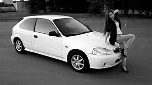 Honda Civic Hatchback White Cat | DRIVE2