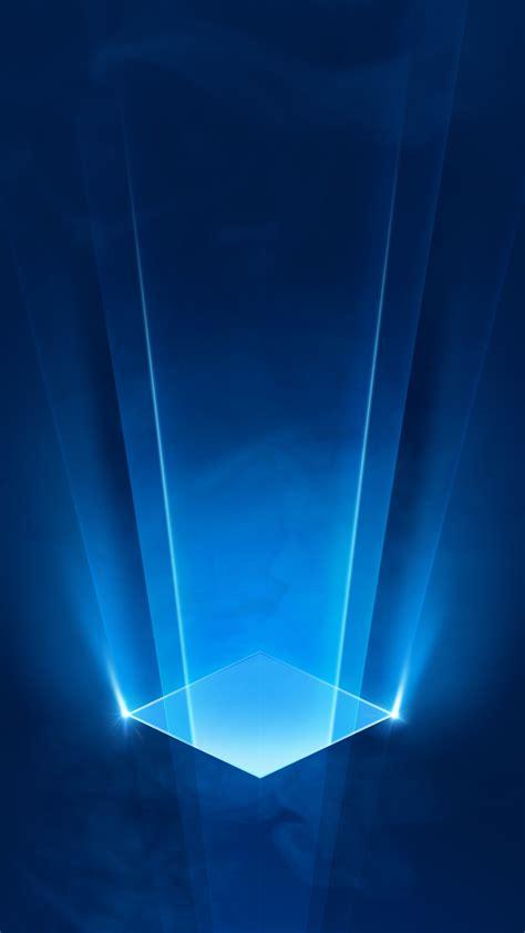 science fiction  blue light effect background blue