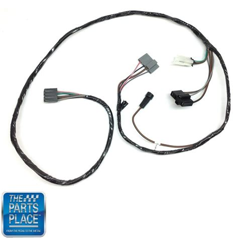 Pontiac Gto Wiring Harnes by 1965 65 Pontiac Gto Lemans Air Conditioning Wiring