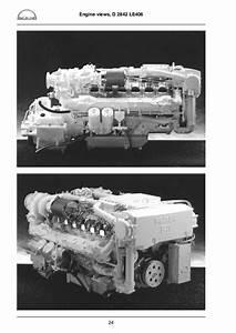 Man Marine Diesel Engine D 2842 Lye    Lze    Le 401  402  403  406  408  41 U2026