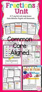 3rd Grade Fractions Unit Common Core   Equivalent