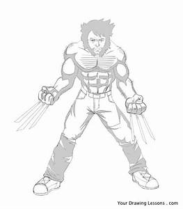 How To Draw Wolverine U2019 Your Drawing Lessons