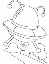 Ufo Coloring Pages Flying Colouring Objects Saucer Omelet Template Unidentified Sightings Printable Getcolorings Popular Meetings sketch template