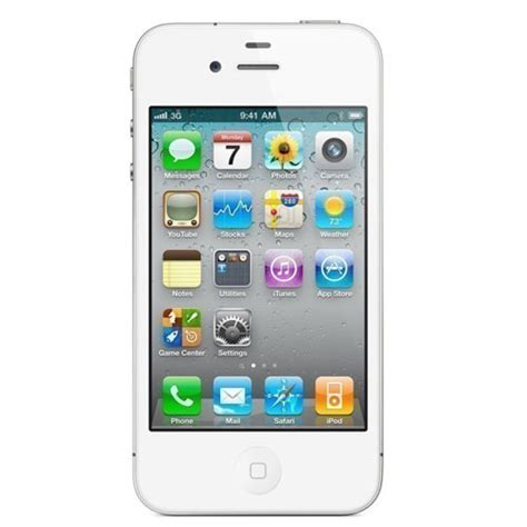 iphone 4s used apple iphone 4s a1387 8gb vz white grade a refurbished