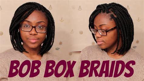 bob box braids tight roots youtube