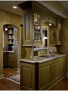 Image Gallery Olive Green Kitchen Cabinets