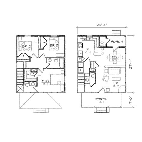 floor plans for two homes 2 house floor plans glamorous square house plans