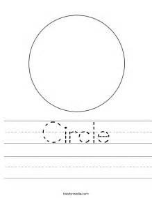 HD wallpapers circle worksheets kindergarten Page 2
