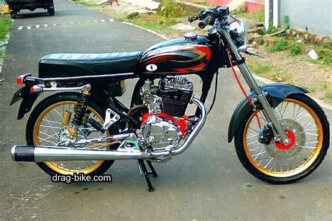 Modif Sederhana Motor Supravit by 50 Foto Gambar Modifikasi Honda Cb 100 Klasik Style