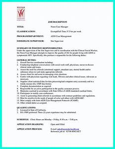 nurse case manager job description sample perfect resume With case manager job description for resume