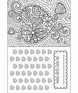 Valentine Card Coloring Crayola Valentines sketch template