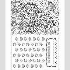 Valentine Card Coloring Page Crayolacom
