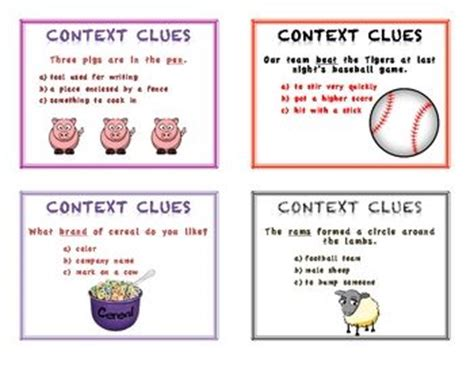 A Set Of 24 Task Cards That Require Students To Read A