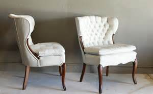 table and chair rental white painted tufted chair 2 the reserve vintage rentals