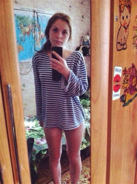Cute Russian Amateur Teenager Selfie And Nakeds Sexy