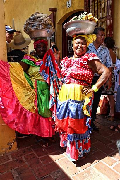 Colombia Cartagena Colombian Traditional Cruising Dresses Thelimericklane