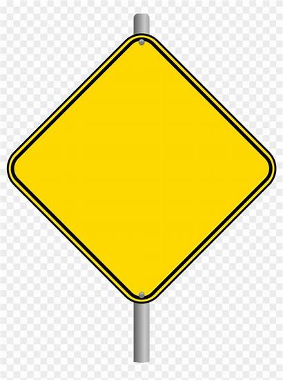 Blank Sign Road Clipart Newspaper Transparent