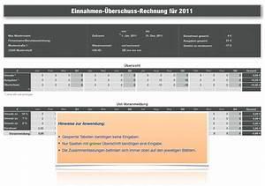 Einnahme überschuss Rechnung Formular : numbers vorlage einnahmen berschuss rechnung e r 2011 ~ Themetempest.com Abrechnung