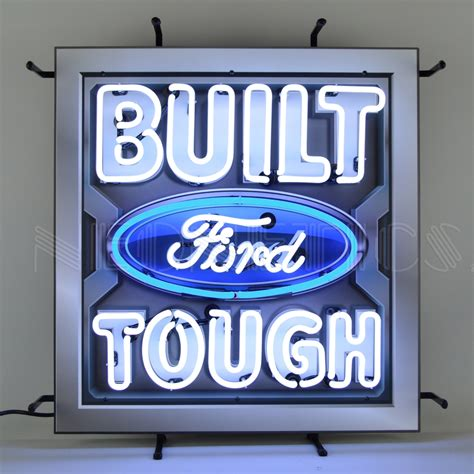 Built Ford Tough Neon Sign With Backing. Distressed Logo. Free Grocery Store Coupons. Pasta Signs Of Stroke. Apply For Disability Car. Grey's Anatomy Banners. Biker Murals. Cell Phone Logo. Motor Cycle Decals
