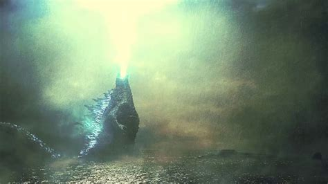 Godzilla Unleashes 'atomic Breath' In Godzilla