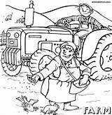 Farm Coloring Pages Colorings Farm7 sketch template