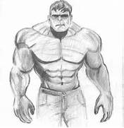 Hulk Drawing In Pencil Easy Drawing hulk bust  Simple Drawing In Pencil