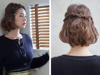 mengikat rambut  simple  cantik