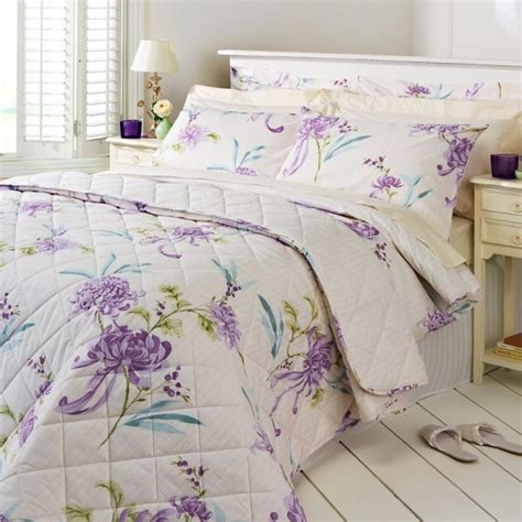christy harriet lavender cream bedding range katies