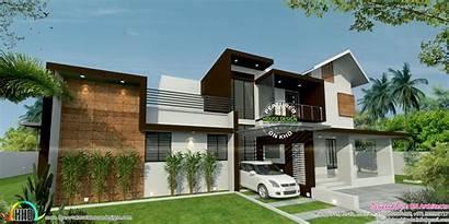 Elevation Floor Plan Bn Architects Plans Kerala