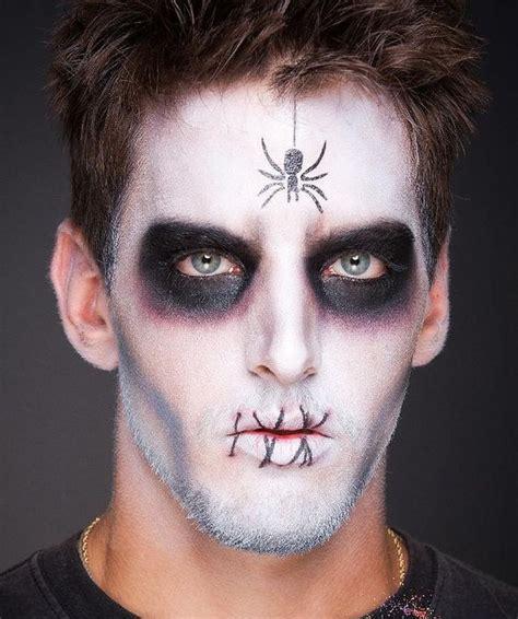 bold halloween makeup ideas  men styleoholic