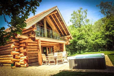 The Lake District Log Cabins With Tub - lake district rural retreats lake district log cabin breaks