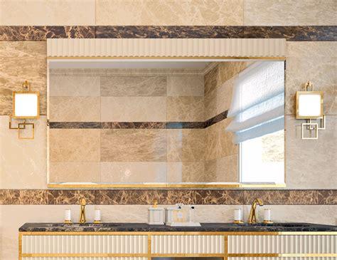Italian Bathroom Mirrors by Accademia A6 High End Italian Bathroom Mirror Nella Vetrina