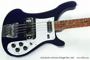 Midnight Blue 2009 Rickenbacker 4001c64s