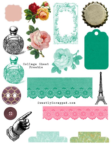 Free Coloring Pages Free Printable Collage Sheets Sweetly