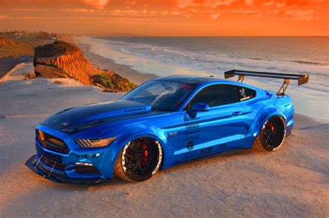 california builder shoots  ultimate mustang mod