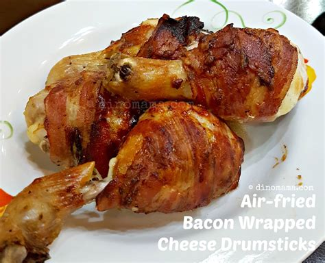 bacon air fried wrapped cheese drumsticks ingredients